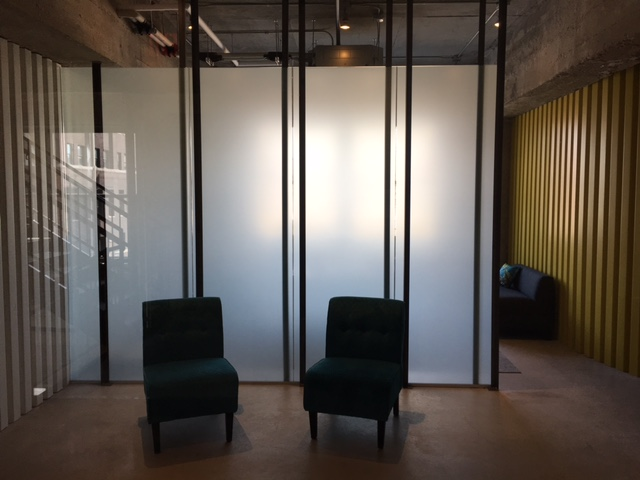 Interior window film from Green Light