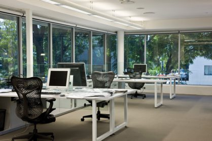 UV protection on office windows