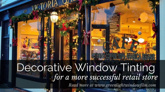 How Decorative Window Tinting Can Make Your Salt Lake City Retail Store More Successful