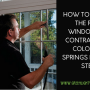 Find A Window Tinting Contractor In Colorado Springs With Just 3 Simple Steps