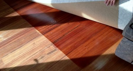 UV Damage on Fort Worth Flooring