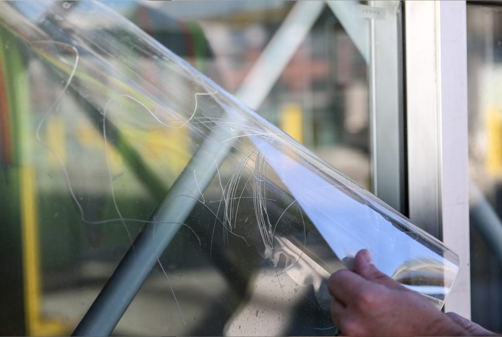 graffiti shield glass shield window film contractor