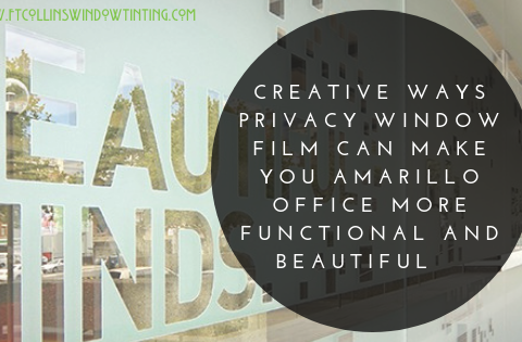 Creative Ways Amarillo Office Spaces Add Privacy With Window Film