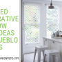 Decorative Window For Bathrooms, Kitchens and Entryways In Pueblo