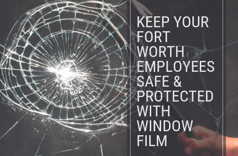 Keep Your Fort Worth Employees Safe & Protected with Window Film