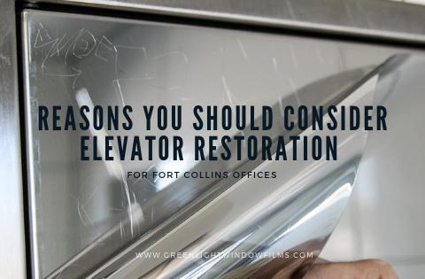 Reasons You Should Consider Elevator Restoration for Fort Collins Offices
