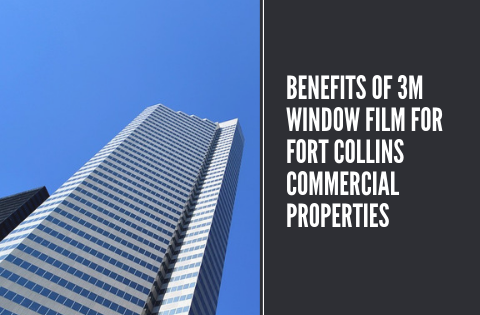 Benefits of 3M Window Film for Fort Collins Commercial Properties