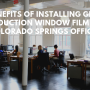 Window Film Colorado Springs