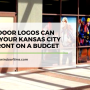 3 Ways Door Logos Can update your Kansas City Storefront on a Budget