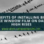 Benefits of Installing Bird Strike Window Film On Dallas High Rises