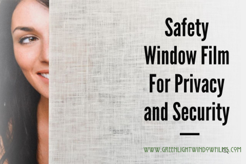 Decorative Window Film For Privacy and Security