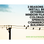 3 Reasons to Install Bird Deterrent Window Film in Colorado Springs Businesses