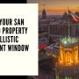 Defend Your San Antonio Property with Ballistic Resistant Window Film
