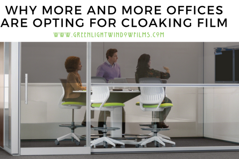 Why More and More Offices Are Opting For Cloaking Film