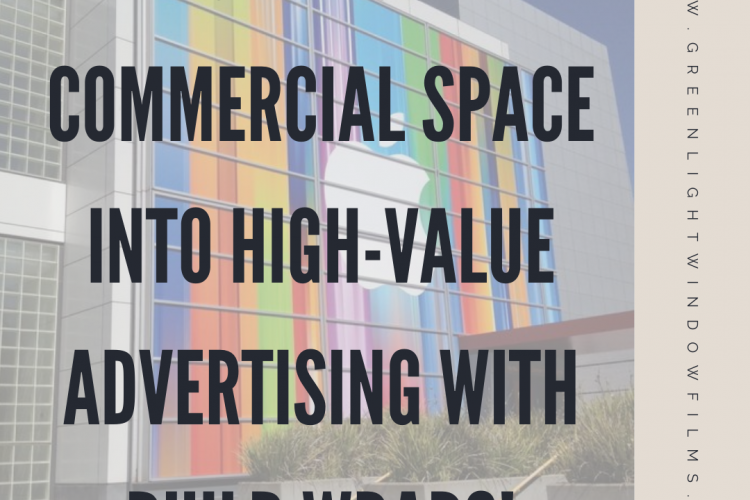 Turn Your Commercial Space Into High-Value Advertising with Building Wraps!