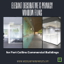 Elegant Decorative & Privacy Window Films for Fort Collins Commercial Buildings