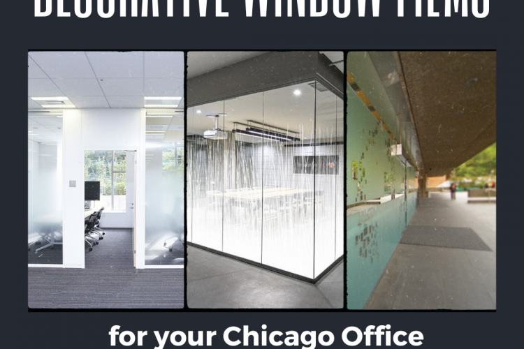 Decorative Window Films for your Chicago Office