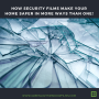 How Security Films Make Your Home Safer in More Ways Than One!